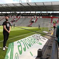 nph00001  17.05.2020 --- Fussball --- Saison 2019 2020 --- 2. Fussball - Bundesliga --- 26. Spieltag: FC Sankt Pauli - 1. FC Nürnberg ---  DFL regulations prohibit any use of photographs as image sequences and/or quasi-video - Only for editorial use ! --- <br /> <br /> Oke Göttlich  (Präsident FC St. Pauli ) im Interview <br /> <br /> Foto: Daniel Marr/Zink/Pool//via Kokenge/nordphoto