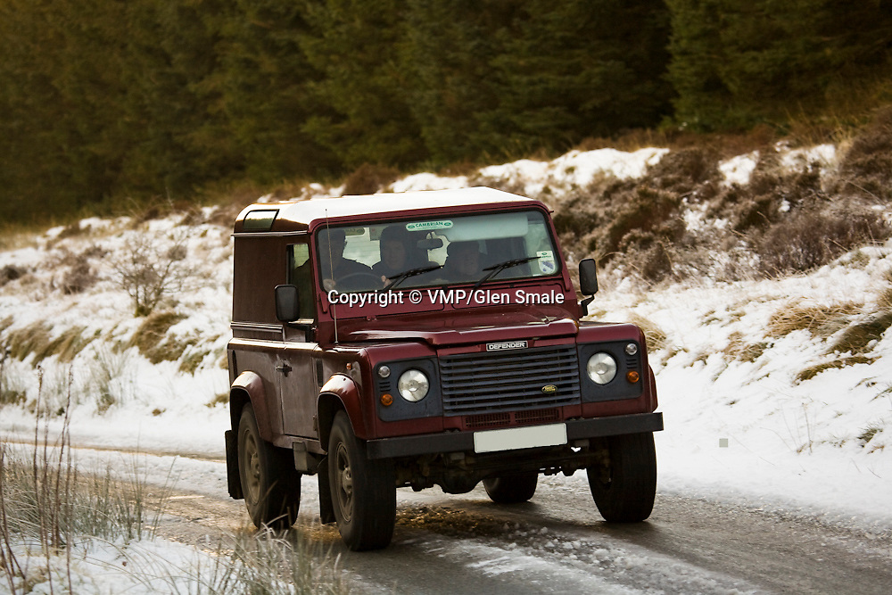 2004, Land Rover Defender 90, Llanllwni Mountain, Wales, 2010