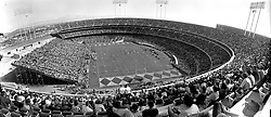 Opening day at the new Oakland-Alameda County Coliseum Sept 18,1966. The Oakalnd Raiders vs. the Kansas City Chiefs.