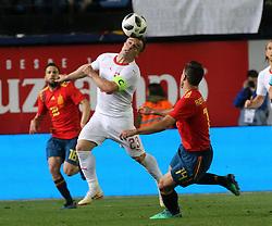 Xherdan Shaqiri of Switzerland, during Spain v Switzerland international friendly match in Villareal, Spain, June 3, 2018. The game finished in a 1-1 draw. Photo by Giuliano Bevilacqua/ABACAPRESS.COM