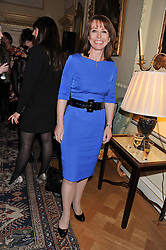 KAY BURLEY at a reception for Women in Media hosted by the Prime Minister David Cameron at 10 Downing Street, London on16th May 2013.