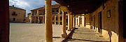 SPAIN, CASTILE AND LEON Pedraza de la Sierra medieval town plaza