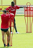 Emmanuel Adebayor during Arsenal Training session<br />Arsenal 2006/07<br />25/07/06 in Bad Waltersdorf, Austria <br />Photo Philipp Schalber Fotosports International / GEPA