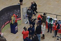 - Photo mandatory by-line: Dougie Allward/JMP - Mobile: 07966 386802 - 11/03/2015 - SPORT - Football - Bristol - Cabot Circus Shopping Centre - Johnstone's Paint Trophy