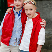 NLD/Amsterdam/20130424- Filmpremiere Boven is het Stil, Xander en Job Steenman