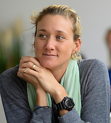 15-07-2014 NED: Persconferentie FIVB Grand Slam Beachvolleybal, Scheveningen<br /> Kerri Walsh