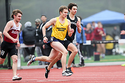 mens 800 meters start, Southern Maine, Maine State Outdoor Track & Field Championships