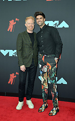August 26, 2019, New York, New York, United States: Jesse Tyler Ferguson and Justin Mikita arriving at the 2019 MTV Video Music Awards at the Prudential Center on August 26, 2019 in Newark, New Jersey  (Credit Image: © Kristin Callahan/Ace Pictures via ZUMA Press)