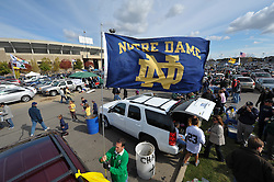 Tailgating at Notre Dame