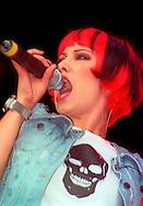 Saffron - Republica / V Festival 98, Hylands Park, Chelmsford, Essex, Britain - August 1998.