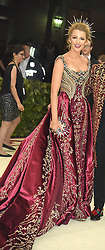 Blake Lively attends the Costume Institute Benefit at the Metropolitin Museum of Art at the opening of Heavenly Bodies: Fashion and the Catholic Imagination on May 7, 2018 in New York, New York, USA.