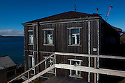 The house where Russian ballet dancer Maya Plisetskay lived as a child, in Barentsburg, a Russian coal mining town in the Norwegian Archipelego of Svalbard. Once home to about 2000 miners and their families, less than 500 people now live here.