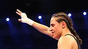 Boxen: WBA-World Championship, Flytweight, Dortmund, 06.07.2013<br /> Susi Kentikian (GER) jubelt<br /> ©Torsten Helmke