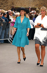 DAVINA BARBER she was Davina Duckworth-Chad, a friend of Prince William's at the wedding of Laura Parker Bowles to Harry Lopes held at Lacock, Wiltshire on 6th May 2006.<br />