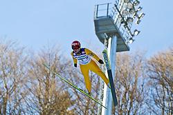 05.02.2011, Heini Klopfer Skiflugschanze, Oberstdorf, GER, FIS World Cup, Ski Jumping, Probedurchgang, im Bild Kalle Keituri (FIN) , during ski jump at the ski jumping world cup Trail round in Oberstdorf, Germany on 05/02/2011, EXPA Pictures © 2011, PhotoCredit: EXPA/ P. Rinderer