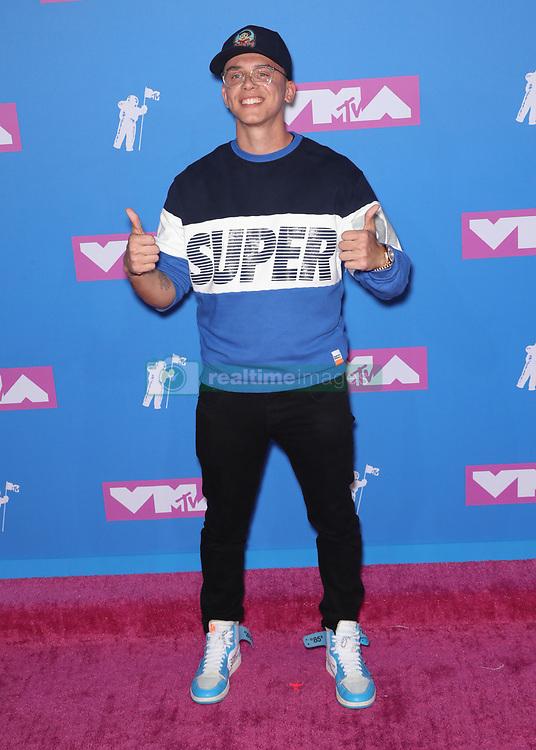 August 21, 2018 - New York City, New York, USA - 8/20/18.Logic at the 2018 MTV Video Music Awards held at Radio City Music Hall in New York City..(NYC) (Credit Image: © Starmax/Newscom via ZUMA Press)