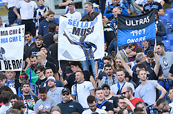 May 6, 2018 - Rome, Italy - Atalanta supporters during the Italian Serie A football match between S.S. Lazio and Atalanta at the Olympic Stadium in Rome, on may 06, 2018. (Credit Image: © Silvia Lore/NurPhoto via ZUMA Press)