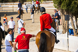 Wouters Seppe, BEL, Porthos Maestro Wh Z<br /> FEI Jumping European Championships for Young Riders, Juniors, Children - Vilamoura 2021<br /> © Hippo Foto - Leanjo de Koster<br /> 21/07/2021