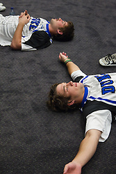 31 May 2010: Duke Blue Devils midfielder Sam Spillane (5) before playing the Notre Dame Irish in the NCAA Lacrosse Championship at M&T Bank Stadium in Baltimore, MD.  The Blue Devils would go on that day to win the national title.