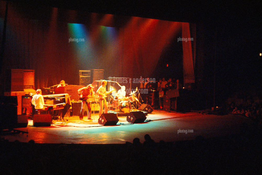 The Band performing Live in Concert at the Westchester Premier Theater Tarrytown New York 13 July 1976