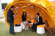 ZAFAR RUSHDIE; LAUREN BUDD; JAMES POWELL, Veuve Clicquot Gold Cup. Cowdray Park on July 20, 2008 . Midhurst, England.