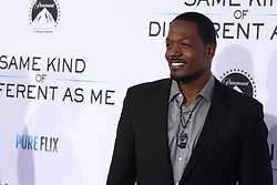 "TC Stallings at the Paramount Pictures And Pure Flix Entertainment's ""Same Kind Of Different As Me"" Premiere held at the Westwood Village Theatre on October 12, 2017 in Westwood, California, USA (Photo by Art Garcia/Sipa USA)"