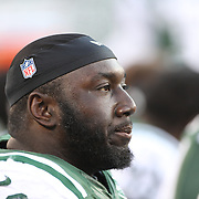 Muhammad Wilkerson, New York Jets, during the New York Jets Vs Miami Dolphins  NFL American Football game at MetLife Stadium, East Rutherford, NJ, USA. 1st December 2013. Photo Tim Clayton
