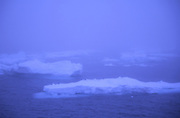 iceberg floats in Scotia Sea near Antarctic Peninsula.