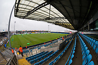 A general view of Sandy Park, home of Exeter Chiefs<br /> <br /> Photographer Bob Bradford/CameraSport<br /> <br /> Heineken Champions Cup Group B - Exeter Chiefs v Glasgow Warriors - Sunday 13th December, 2020 - Sandy Park - Exeter<br /> <br /> World Copyright © 2020 CameraSport. All rights reserved. 43 Linden Ave. Countesthorpe. Leicester. England. LE8 5PG - Tel: +44 (0) 116 277 4147 - admin@camerasport.com - www.camerasport.com