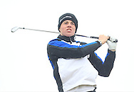 Stuart Grehan (Tullamore) on the 16th tee during Round 3 of the East of Ireland Amateur Open Championship at Co. Louth Golf Club, Baltray on Monday 1st June 2015.<br /> Picture:  Thos Caffrey / www.golffile.ie