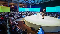 Carla Pernambuco durante o VOX - The Joy of Sharing, evento que  pretende provocar reflexões sobre o futuro da comunicação a partir do compartilhamento de conteúdo e experiências. FOTO: Vinícius Costa/ Agência Preview
