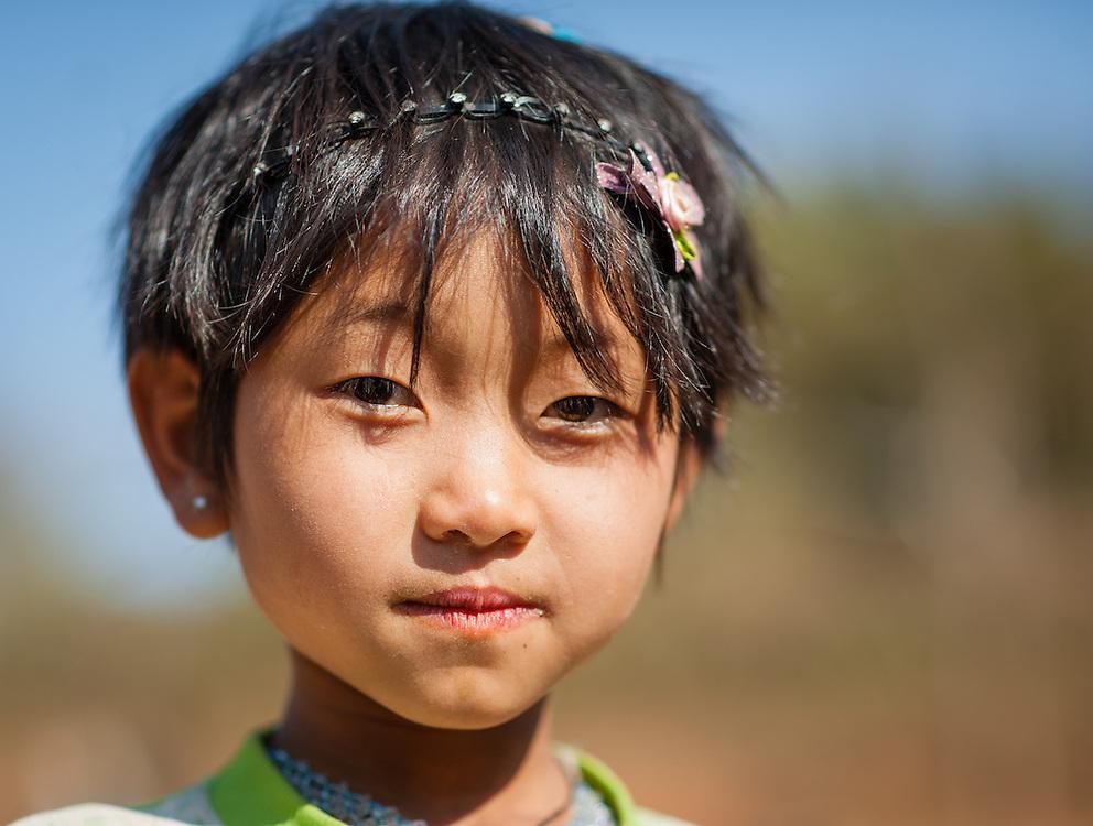 Country girl portrait (Myanmar)
