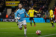 Burton Albion striker Jamie Ward (12) during the The FA Cup 3rd round match between Watford and Burton Albion at Vicarage Road, Watford, England on 7 January 2017. Photo by Richard Holmes.