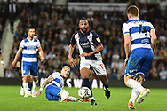 West Bromwich Albion midfielder Matt Phillips (10) sprints forward with the ball during the EFL Sky Bet Championship match between West Bromwich Albion and Queens Park Rangers at The Hawthorns, West Bromwich, England on 24 September 2021.