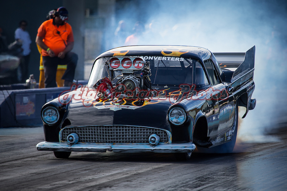 Tracey De Jager (2129) - Nitrous Nanna Racing Ford Thunderbird - Supercharged Outlaws.