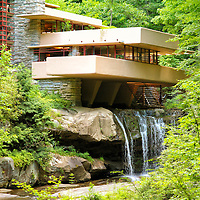 """""""Glance at Fallingwater""""<br /> <br /> <br /> Beautiful Fallingwater in the Laurel Highlands of Pennsylvania!!<br /> <br /> Architecture: Structures and buildings by Rachel Cohen"""