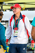 "Rio de Janeiro. BRAZIL.   2016 Olympic Rowing Regatta. Lagoa Stadium, GBR Women's Head Coach, Paul THOMPSON, <br /> Copacabana,  ""Olympic Summer Games""<br /> Rodrigo de Freitas Lagoon, Lagoa.   Saturday  13/08/2016 <br /> <br /> [Mandatory Credit; Peter SPURRIER/Intersport Images]"