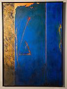 UNTITLED, ROBERT RECTOR: Saffron Fields Vineyard art, Yamhill-Carlton AVA, Willamette Valley, Oregon