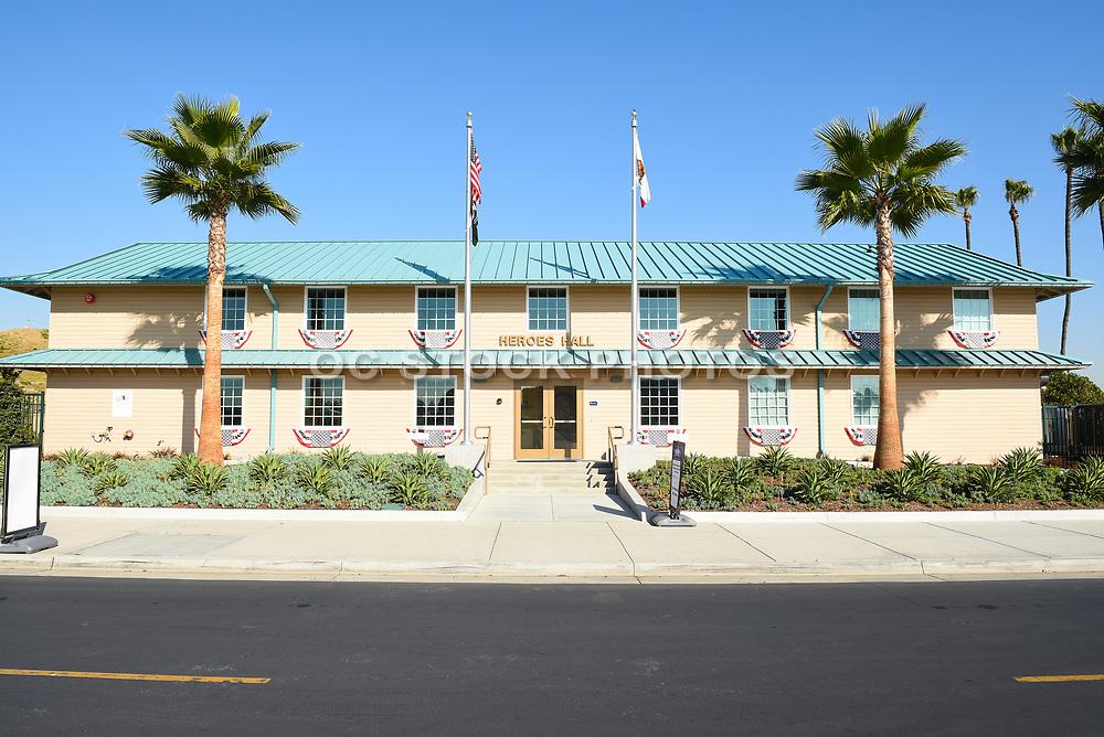 1942 Santa Ana Army Air Base Barracks Building At OC Fair And Event Center In Costa Mesa