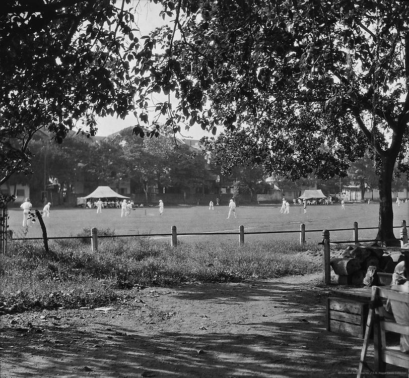 Cricket, Bombay, India, 1929
