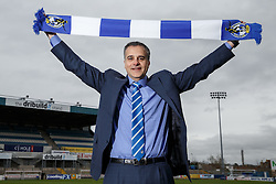 New Bristol Rovers President Wael Al-Qadi poses at the Memorial Stadium after a press conference to announce that Bristol Rovers has been aquired by the Jordanian Al-Qadi Family who have taken a 92 percent stake in the club - Mandatory byline: Rogan Thomson/JMP - 07966 386802 - 19/02/2016 - FOOTBALL - Memorial Stadium - Bristol, England - Bristol Rovers New Owners.