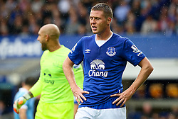 Everton's James McCarthy looks dejected - Mandatory byline: Matt McNulty/JMP - 07966386802 - 23/08/2015 - FOOTBALL - Goodison Park -Everton,England - Everton v Manchester City - Barclays Premier League
