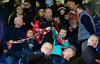 Lincoln City fans at the end of the game<br /> <br /> Photographer Chris Vaughan/CameraSport<br /> <br /> The EFL Sky Bet League One - Sheffield Wednesday v Lincoln City - Saturday 23rd October 2021 - Hillsborough Stadium - Sheffield<br /> <br /> World Copyright © 2021 CameraSport. All rights reserved. 43 Linden Ave. Countesthorpe. Leicester. England. LE8 5PG - Tel: +44 (0) 116 277 4147 - admin@camerasport.com - www.camerasport.com