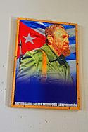 Revolutionary sign in Gibara, Holguin, Cuba.