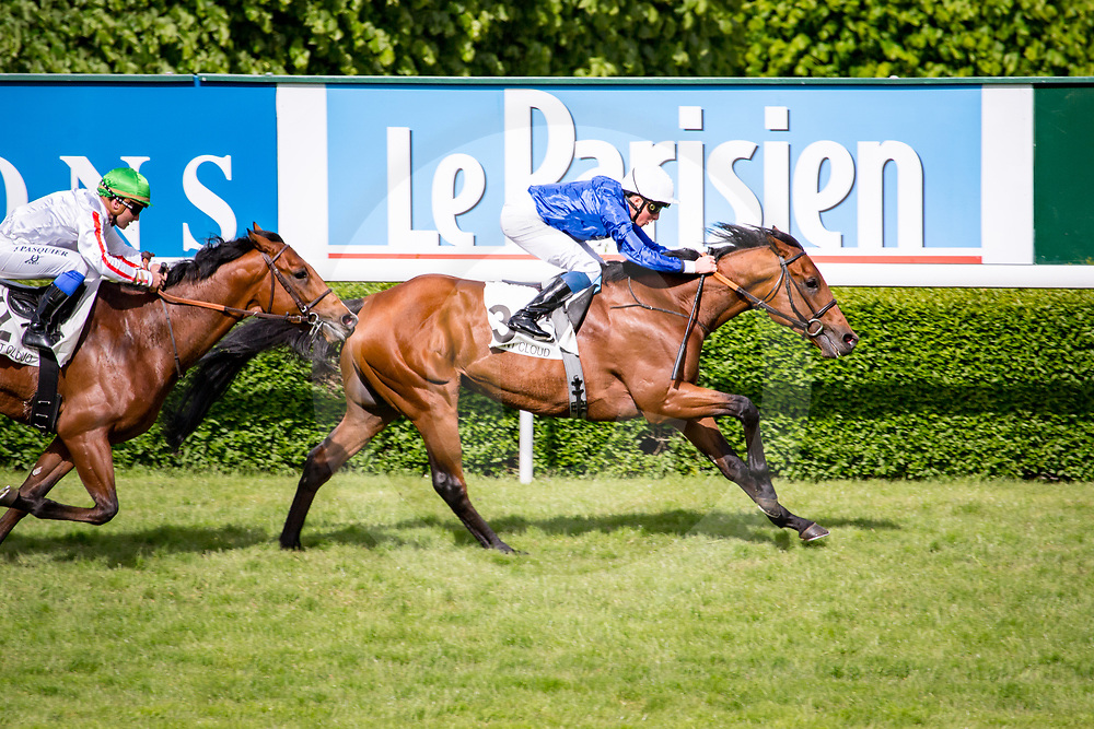 Wolf Country (W. Buick) wins Listed Prix de l'Avre in Saint Cloud, France,  1 may 2017, photo Zuzanna Lupa