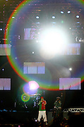 Belo Horizonte_MG, Brasil...Show da banda americana Black Eyed Peas no 2o dia do Pop Rock Brasil no Mineirao. Na foto o cantor Taboo...Show of the Amercian band Black Eyed Peas in the second day of Pop Rock Brazil on Mineirao. In this photo the singer Taboo...Foto: LEO DRUMOND / NITRO