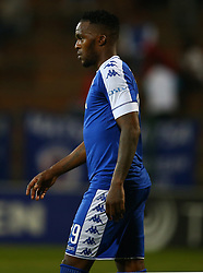 during the 2016 Premier Soccer League match between Supersport United and The Free Stat Stars held at the King Zwelithini Stadium in Durban, South Africa on the 24th September 2016<br /> <br /> Photo by:   Steve Haag / Real Time Images