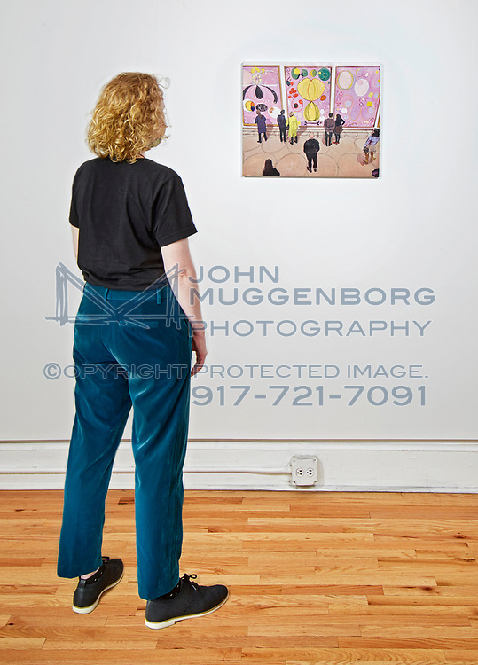 Joe Fig: Contemplation at Cristin Tierney Gallery on the LES NYC. Photographed by John Muggenborg.<br /> <br /> http://www.johnmuggenborg.com