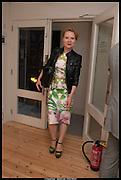 TATIANA KOSTANIAN, Born in the USSR, Design exhibition opening. Gallery Elena Shchukina, Beauchamp Place, Knightsbridge. London. 15 September 2014.