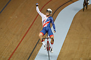 MenElimination Race, Matthew Wall (Great Britain), during the Track Cycling European Championships Glasgow 2018, at Sir Chris Hoy Velodrome, in Glasgow, Great Britain, Day 6, on August 7, 2018 - Photo luca Bettini / BettiniPhoto / ProSportsImages / DPPI<br /> - Restriction / Netherlands out, Belgium out, Spain out, Italy out -